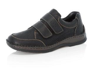 Pantofi barbati casual, piele naturala, 05350-00 – Rieker