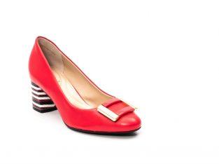Pantofi dama eleganti, piele naturala, EP-oe1678-561-586, multicolor – Epica