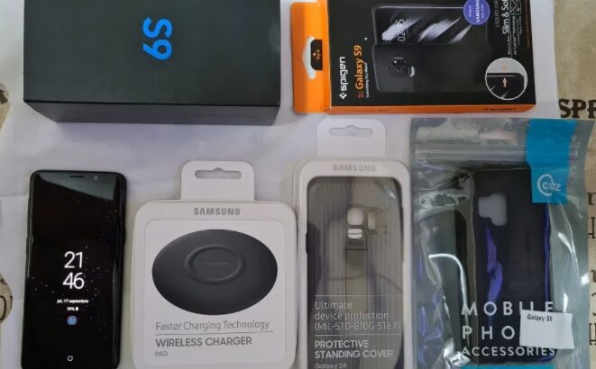 Telefon Samsung Galaxy S9   G960F   64 Gb   Black   Neverlocked