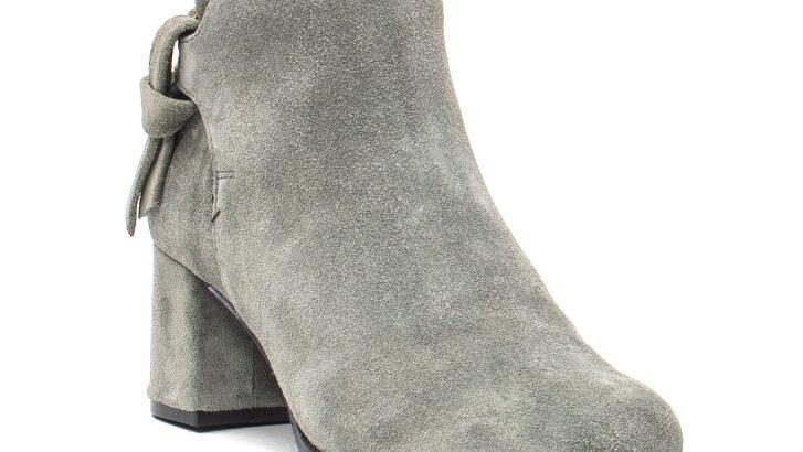 Botine dama elegante, piele naturala intoarsa, LFX 563 V – Leofex