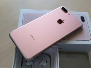 Iph 7+ Gold-Rose ! Telefon ca si Nou ! Garantie Apple 2021 bat.la 95%