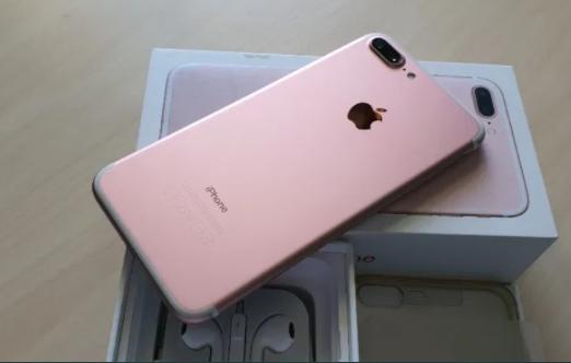 Iph 7+ Gold-Rose ! Telefon ca si Nou ! Garantie Apple 2021 bat.la 95%