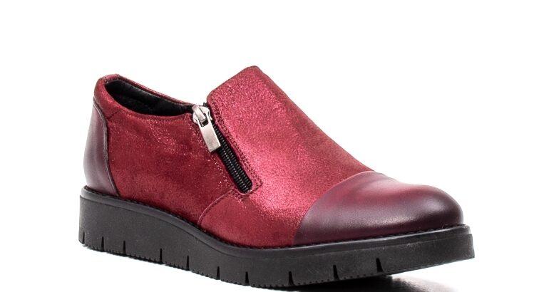 Pantofi casual dama, piele naturala, 182634AMA B – Catali