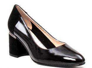 Pantofi eleganti dama, piele naturala lacuita,Y36 – Epica