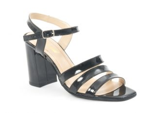Sandale dama elegante, piele naturala, Nike Invest 1080, negru lac – NIKE INVEST