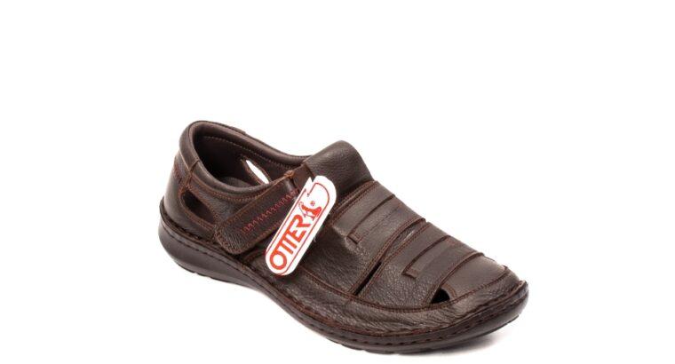 Sandale barbat, piele naturala, OT 9562 M – Otter