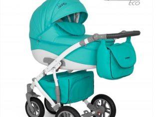 Carucior copii 2 in 1 Sirion Eco Camarelo SiE-9