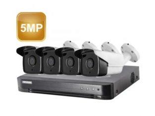 Camere supraveghere Ultra HD 5MP cu instalare