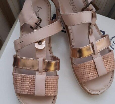 Sandale piele interior-exterior.