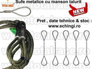 Sufe metalice cu manson talurit Total Race