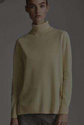 Pulover Massimo Dutti, galben