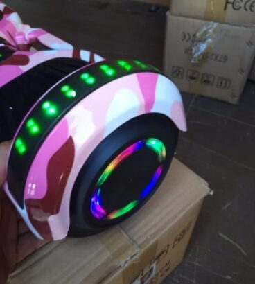 Hoverboard roz led