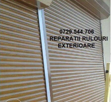 Rulouri exterioare Reparatii rulouri reparatii jaluzele exterioare