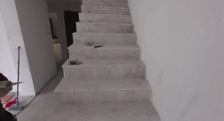 Trepte marmura alba Cluj Napoca