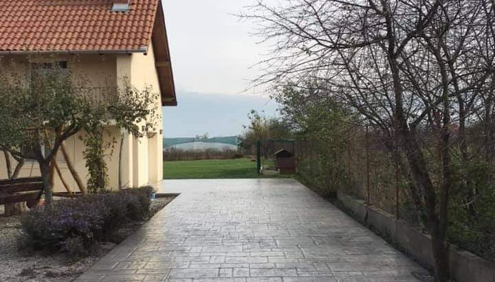 Pavaje beton amprentat Cluj Napoca Oferta de pret pe m2