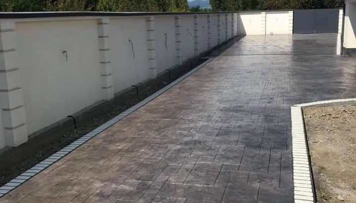 Preturi Beton amprentat in judetul Mures pavaje beton amprentat Targu Mures Oferta de pret pe m2 in judetul Mures