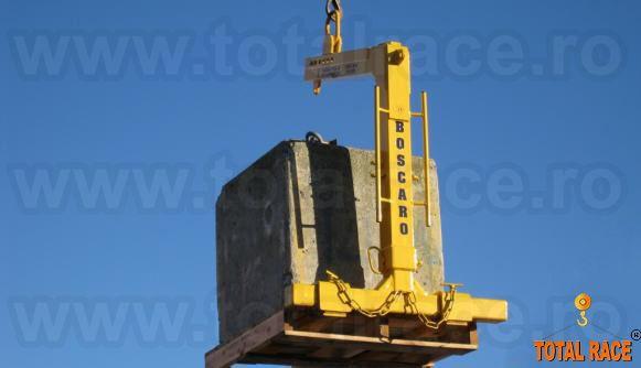 Dispozitive ridicare cu furci pentru macara cu lame de 1000 mm