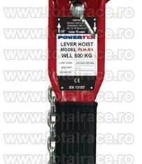 Palane manuale cu levier pentru instalare echipamente