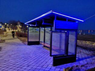 Statie – adapost calatori pentru transport urban / statie de autobuz