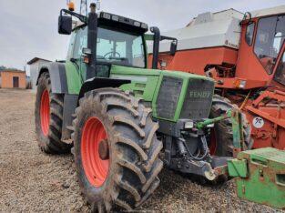 Tractor Fendt Favorit 824 Turboshift, an 2000, AC, 4×4, revizie la reprezentanta