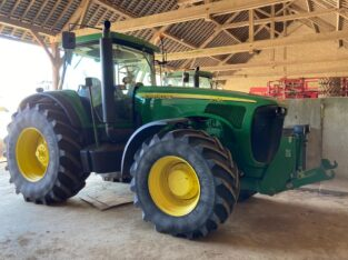 Tractor John Deere 8420, an fabricatie 2005, AC-clima, 7.966 ore reale, 300 CP, 4×4. IMPOR
