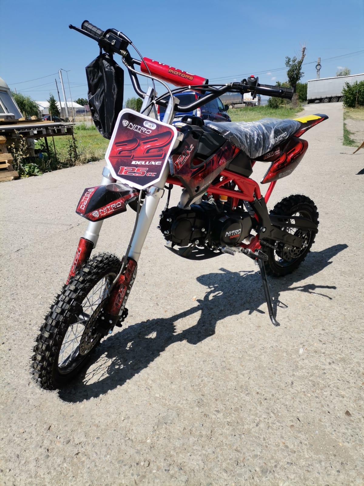 MOTOCICLETA SKY DELUXE 125CC #MANUALA 4 TREPTE