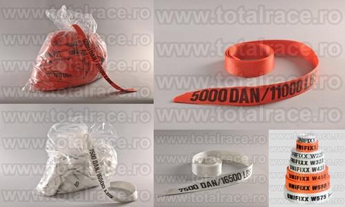 Banda de ancorare si accesorii pentru legare si ambalare