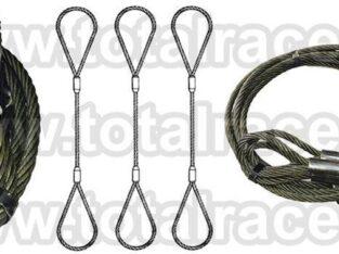 Sufe ridicare cabluri inima metalica Total Race