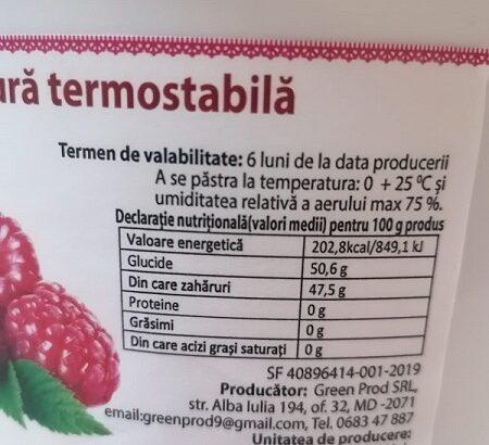 Umplutură termostabilă de mere pentru patiserie
