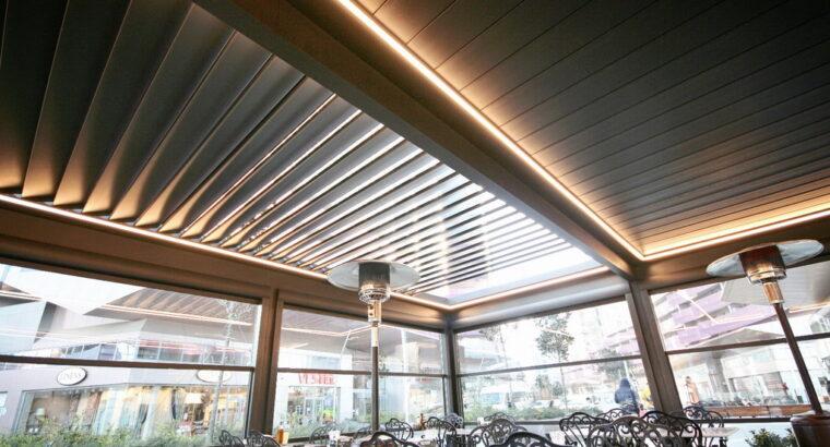 Închideri laterale pentru terase, de la Sun Leader