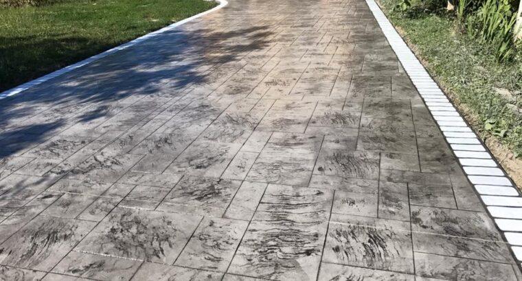Beton Amprentat Suceava • Oferta de Pret / m² in 2021