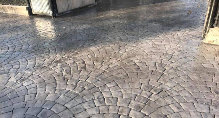Beton Amprentat Craiova • realizam pavaj din beton amprentat in Craiova