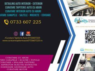 curatare aburi detailing tapiterie auto spalare curatare interior auto igienizare