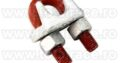 Bride cablu forjate Crosby Total Race