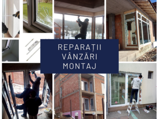 Reparații ferestre termopan
