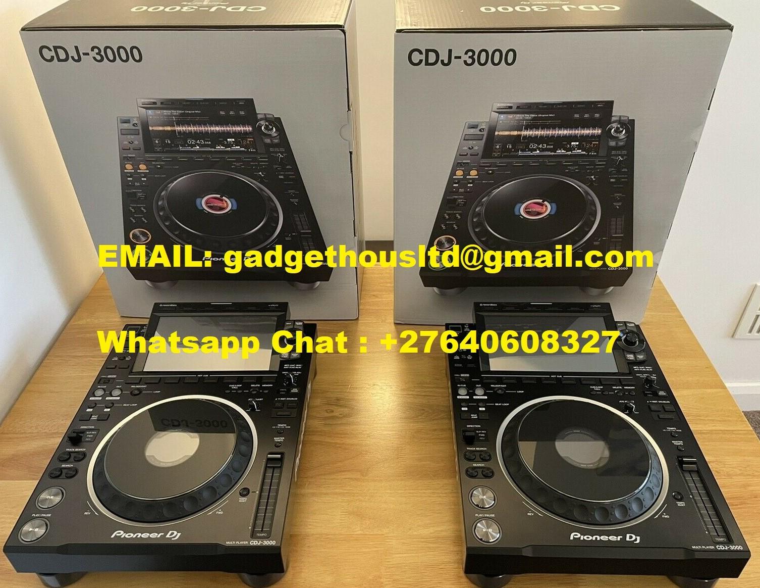 Pioneer CDJ-3000, Pioneer CDJ 2000 NXS2, Pioneer DJM 900 NXS2, DDJ 1000 / DDJ 1000SRT