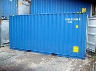Container maritim 20 și 40 picioare (6m) prima călătorie – Depozitare