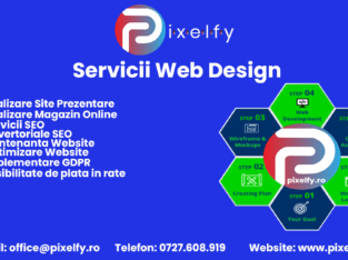 Servicii Web Design | Creare Site De Prezentare | Magazin Online | Promovare SEO