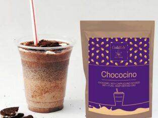 CHOCOCINO cu Cappucino și CBD – 50 gr