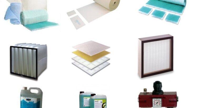 Filtre tavan , filtru podea , ceara curatare cabine de vopsit