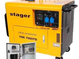 Generator Curent Stager YDE7000TD, Diesel, 4.2 kVA