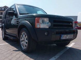 Land Rover Discovery Discovery 3, An 2007, 7 locuri, Carlig 3500 kg