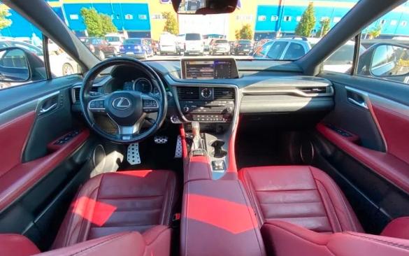 Lexus Seria RX 450h an 2016
