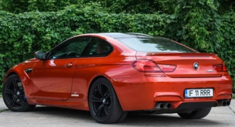 Bmw M6 putere 575 CP Competition