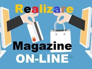 Realizăm magazine online pentru orice domeniu de activitate