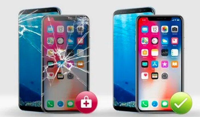 Schimbare sticla inlocuire geam display Iphone 12 pro 12 pro max