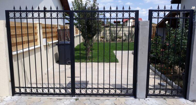 Confectii Metalice Bucuresti – Garduri si Porti Metalice